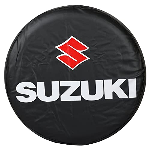 Moonet Spare Tire Wheel Cover Car Truck SUV Camper Fits for Suzuki Vitara Sidekick Samurai R15