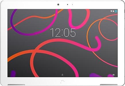 Funda de Silicona para Tablet PC BQ Aquaris M10 Ubuntu Edition Full HD 10.1-Naranja