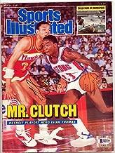 Doc Rivers Signed Sports Illustrated Magazine Atlanta Hawks - Beckett Authenticated