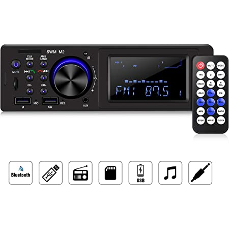 Homeasy 1din Autoradio Bluetooth Mit Elektronik