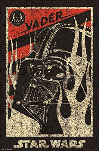 Trends International Star Wars Vader Propaganda Wall Poster 22.375' x 34'