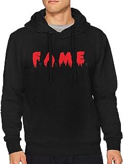 EdwardLBellew Chris Brown F.A.M.E Men Warm Hoodie Sweatshirt Long Sleeve tee Pullover Sweater Black