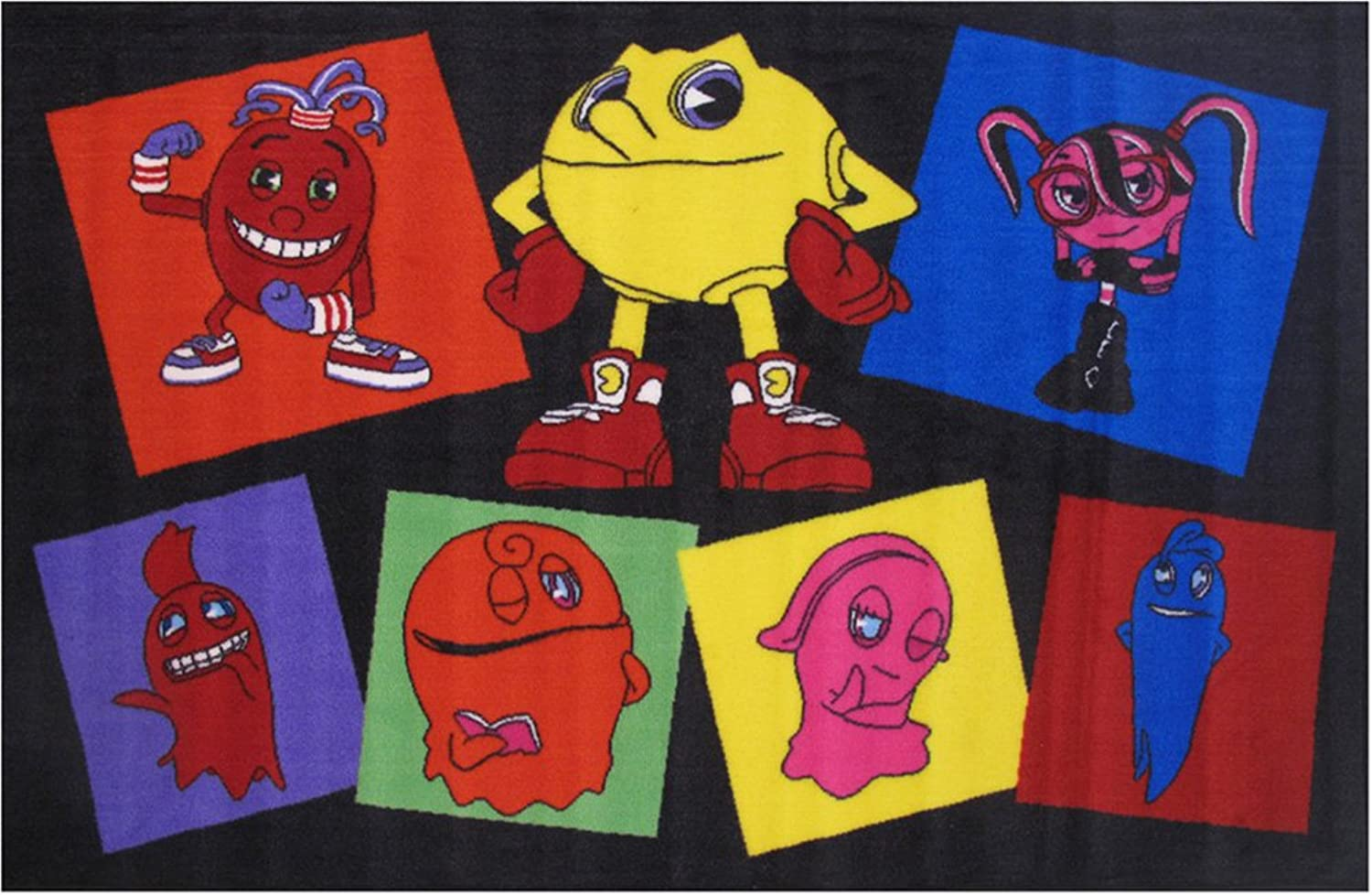 Fun Rugs PacMan Pac Party Novelty Rug, 39 x 58