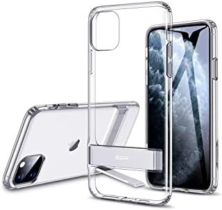 ESR iPhone 11 Pro Max Case, transparent with Metal Kickstand