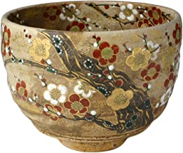 KIYOMIZU Ware Matcha Bowl (Wooden Box) Plum