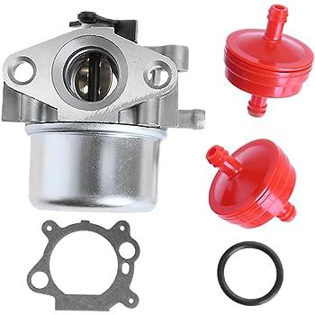 Amazon.com: Hoypeyfiy Carburetor for Craftsman for Gold 6.25 6.75 HP MRS Push  Mower 675 190cc w/Fuel Filter: Automotive | Push Mower Fuel Filter |  | Amazon.com
