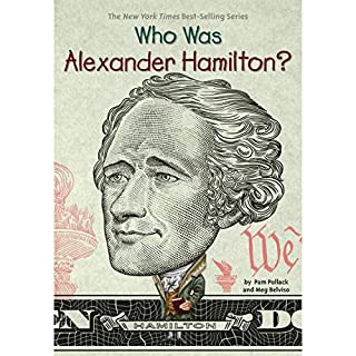 Who Was Alexander Hamilton? audiobook cover art