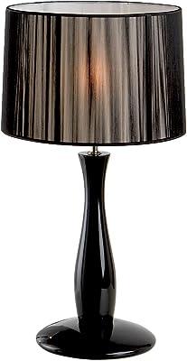 Schuller 663012 LAMPE BASSE ·LIN· NOIR A/P