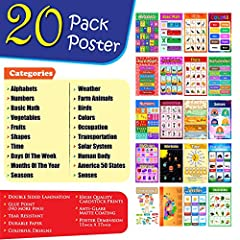 ♥♥♥ Learning posters for USA 50 States Alphabets Basic Math Birds Farm Animals Fruits Vegetables Colors Days of the Week Months of the Year Weather Basic Shapes Numbers 1-10 Human Body Humans Senses Seasons Occupations Solar System Reading Time Trans...