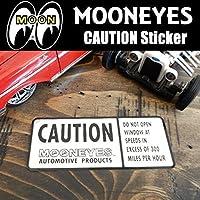 ムーンアイズ MOONEYES CAUTION Sticker 危険 警告 ステッカー デカール