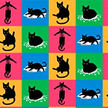 GRAPHICS & MORE Black Cat Fun Premium Roll Gift Wrap Wrapping Paper