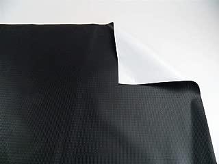 Vinyl Tarp 13 oz. Heavy Duty Black/White Pond Liner Waterproof (8x16)