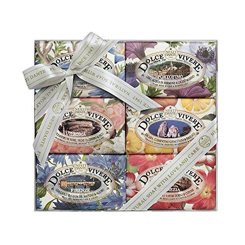 Nesti Dante Dolce Vivere Soap Set, 6-pack (6 x 150 g)