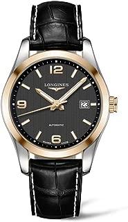 Conquest Classic Automatic 40mm Mens 18K Gold Watch L2.785.5.56.3