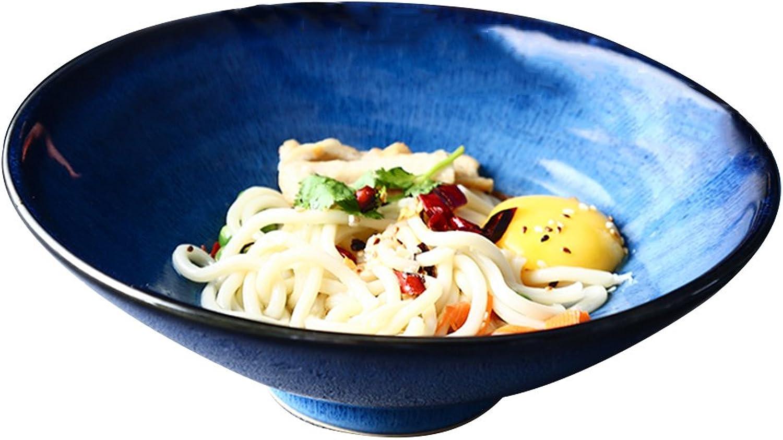 LXY Keramische Schüssel Kreative Home Restaurant Restaurant Restaurant Japanische Vintage Blaus Serie Eimer Nudelschale Schüssel B07FMJQDBR  Neuartiges Design 252c8d