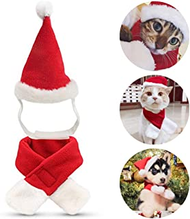 Namsan Dog Sailor Costume Cat Sailor Outfit Navy Hat Pet Costume for Halloween, Christmas, New Year