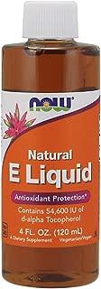 Now Vitamin E 54,600 IU Liquid,4-Ounce