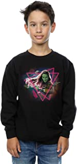 Marvel niños Guardians of the Galaxy Neon Gamora Camisa De Entrenamiento