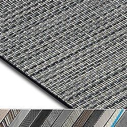 casa pura Design Bodenschutzmatte Genua in 6 Größen | dekorative Unterlegmatte für Bürostühle oder Sportgeräte (120 x 90 cm)
