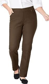 Women's Plus Size Straight Leg Tummy Tamer Jean