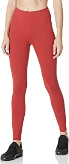 7GOALS Womens High Waist Running Yoga Legging with Pockets, Tummy Control Non See Through Athletic Pants