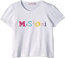 Logo Print T-Shirt (Toddler/Little Kids)