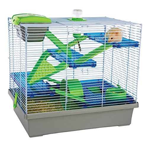 Rosewood Pico Hamster Cage, Extra Large, Silver