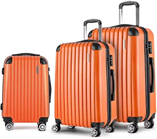 Wanderlite Luggage Suitcase Set 3 Pcs 20'' 24'' 28''