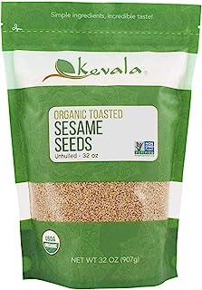 Kevala Organic Toasted Sesame Seeds 2Lbs