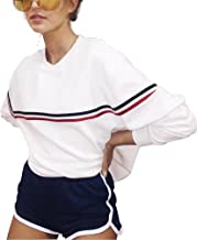 Crewneck Sweatshirts Women Winter Fashion Aesthetic Tumblr Cute Vintage White Sweaters Pullover Oversized Plus Size
