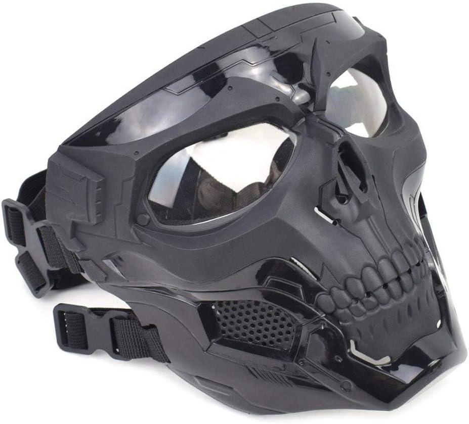 Sunton Tactical Airsoft Cheap mail order shopping Mail order cheap Skull Full Face Mask Fu Adjustable