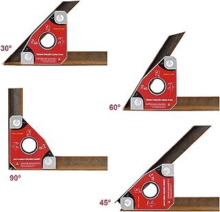 2 x magnete forza fino a 33 kg con 8 CAMPI MAGNETICI MAGNETE MAGNETICO SQUADRA MAGNETICA,