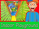 The Indoor Playground with Blippi - Learn Colors...