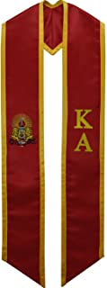 Kappa Alpha Order KA Fraternity Deluxe Embroidered Graduation Stole