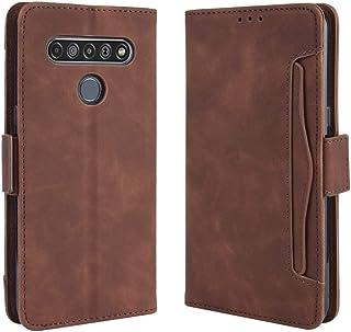 حالات LG For LG K41S / K51S Wallet Style Skin Feel Calf Pattern Leather Case, with Holder & Separate Card Slot & Photo Fra...