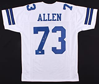 Larry Allen Autographed Signed Cowboys Jersey Inscribed HOF 13 Memorabilia - JSA Authentic