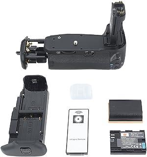 Dste - Empuñadura de batería para cámara réflex digital Canon EOS 60D (con mando a distancia y 2 baterías ion-litio LP-E6)