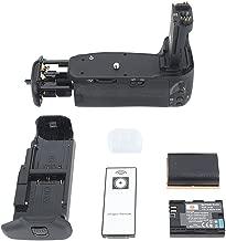 DSTE Replacement for Pro IR Remote BG-E9 Vertical Battery Grip + 2X LP-E6 LP-E6N Compatible Canon EOS 60D 60Da SLR Digital Camera