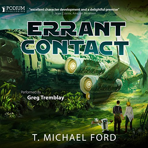 Errant Contact audiobook cover art