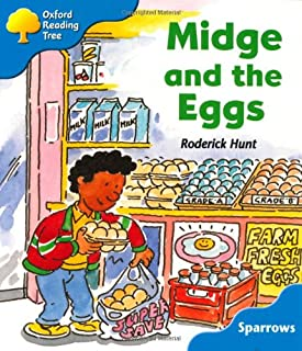 Oxford Reading Tree: Stage 3: Sparrows: Midge and the Eggs