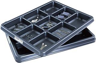 ホーザン(HOZAN) ESDパーツトレー 省スペースで電子部品を整理できるパーツ皿 9分室 3枚入 F-23
