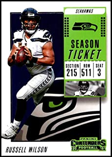 2018 Panini Contenders Season Tickets  10 Russell Wilson NM-MT Seattle  Seahawks Official NFL 10207865d