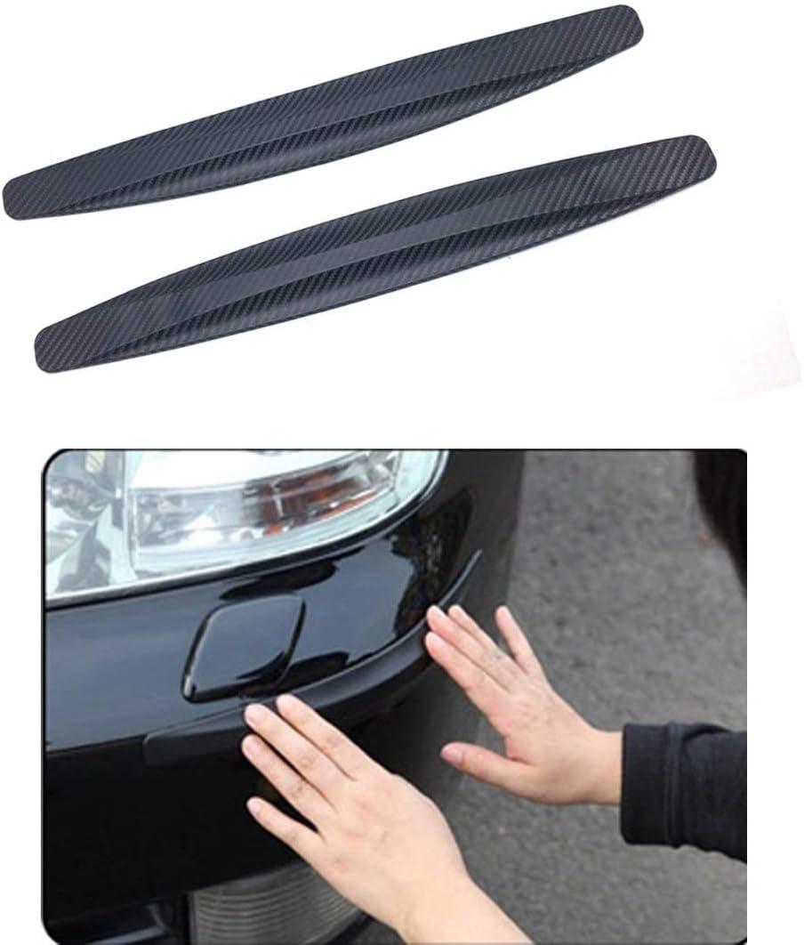 2x Vorne Hintere Stoßstange Schutz Streifen Abdeckung Auto