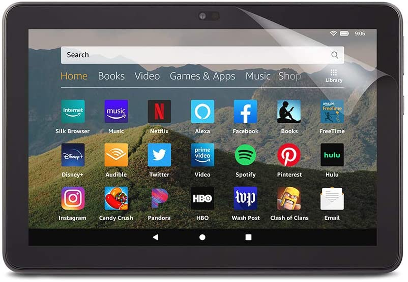 NuPro Anti-Glare Screen Protector Large-scale sale for Amazon an Purchase HD 8 Fire tablet