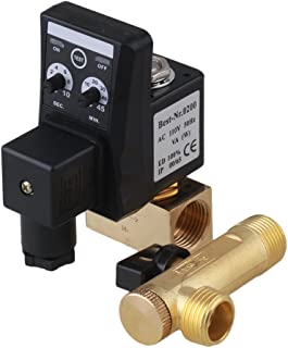 CNBTR  Automatic Timed Water Trank Direct-Acting Drain Valve Electronic Timed Air Compressor Forging Brass 1/2