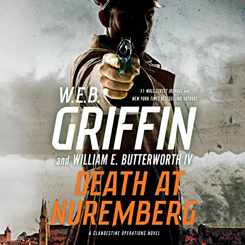 Death at Nuremberg audiobook cover art