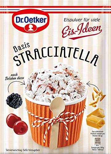 Dr. Oetker Eispulver Stracciatella, 120 g