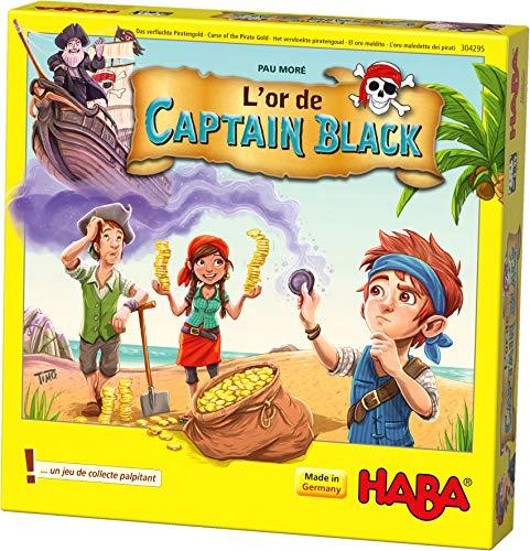 HABA- L'Or de Captain Black, 304295, Coloré