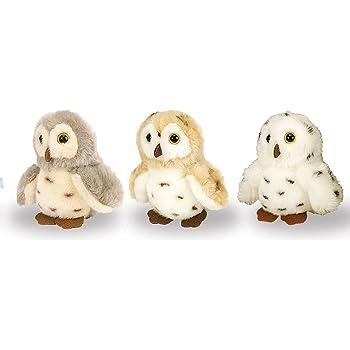 Wild Republic Owl Plush, Stuffed Animal, Plush Toy, Gifts for Kids, Cuddlekins 5 inches