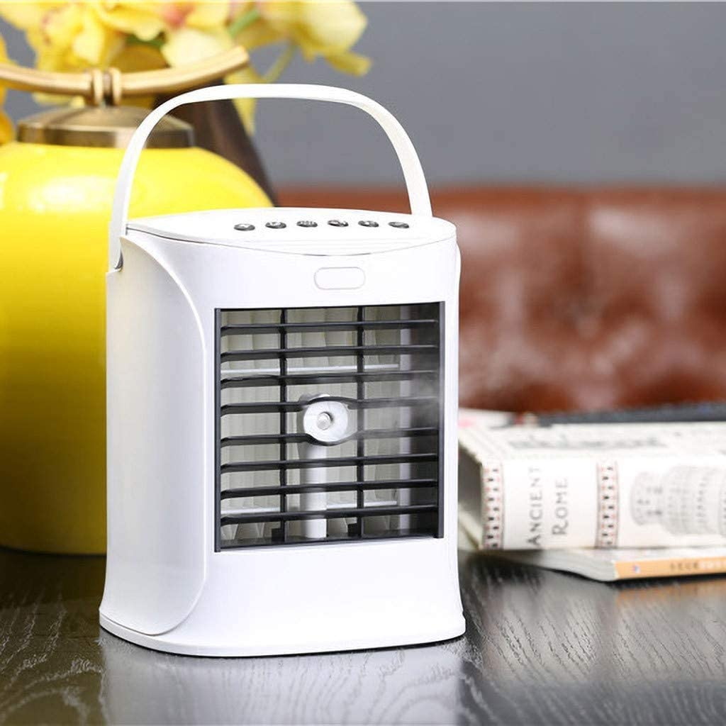 OFFicial High material USB Charging Portable Multifunction Air Conditioning Fan Re Home